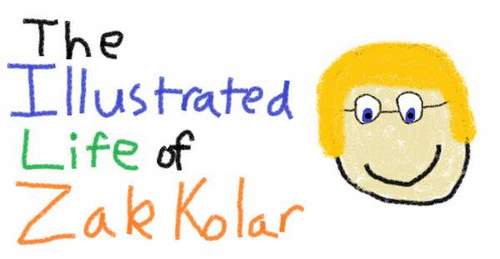 The Illustrated Life of Zak Kolar